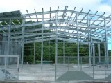 Godown prefabbricato della struttura d'acciaio/magazzino struttura d'acciaio
