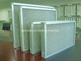 Handhabung- am Bodenmetallineinander greifen-grober Luftfilter, Maschendraht-Filter