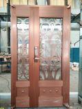 Puerta de cobre pura de la seguridad de la puerta de la alta calidad de Foshan Coppman