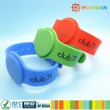 braccialetto classico registrabile del silicone di 13.56MHz MIFARE 1K RFID