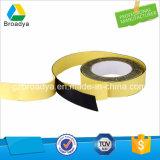 Espuma echada a un lado doble amarilla de EVA de la cinta (BY-ES25)
