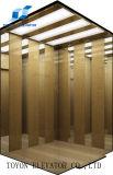 Fabricante de Toyon para o elevador do passageiro com tração Gearless do elevador do espelho 1000kgs