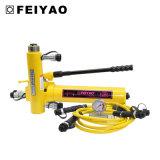Double cylindre hydraulique temporaire utilisé pour le levage lourd de machine avec le prix raisonnable (Exercice-Rr)