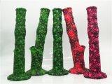Tubos de agua del cristal del tubo electrónico colorido de los productos que fuman que fuman