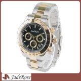 上のブランドの贅沢な水晶腕時計は、ステンレス鋼のメンズウォッチを作る