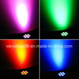 mini DEL lumière principale mobile de lavage de disco de 7X10W