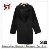 Usure pure de couleur de Madame Short Winter Coat Woolen