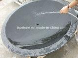 Pedra natural/lavatório em granito/bacia com a mão para entalhar