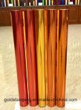 Papier d'aluminium de estampage chaud de transfert thermique de couleur d'or pour le papier peint