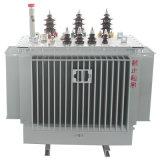 Transformateur rempli d'huile dévolteur triphasé 2500kVA de distribution d'énergie