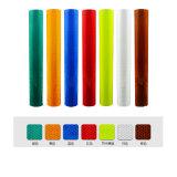 прокладка крена стикера пленки ленты видности отражательной безопасности цвета 3m*10m*50mx 4.5cm предупреждающий