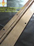Longue charnière continue de piano d'acier inoxydable de charnière