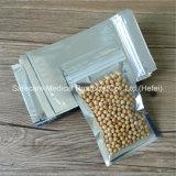 Nahrungsmittelgrad-Plastikaluminiumfolie-Reißverschluss gedichtete Plastik-Beutel für Lebensmittelkonservierung