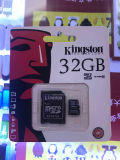 Real de la tarjeta Flash original 32GB Tarjeta de memoria Tarjeta SD Adaptador gratis