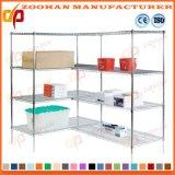 Stand d'étagère de fil de mémoire de cabinet de bureau de Chambre (Zhw52)
