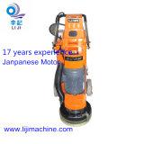 Lj-320d Motor Japonês máquina de moagem de concreto com coletor de pó