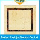 Elevador do passageiro de Fushijia com aço inoxidável do espelho e decoração do projector