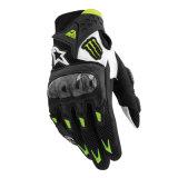 Кожаный перчатки вновь собираясь перчатка мотоцикла перчаток изготовленный на заказ (MAG103)