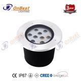 Im Freien helles 9W LED Tiefbaulicht LED-in IP67