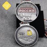 Fait en usine de haute qualité des médailles de souvenirs de gros métalliques personnalisées