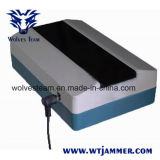 Всемирный Jammer сотового телефона полностью заполненная зона (CDMA/GSM/3G/DCSPHS)