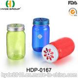 16oz BPA geben Plastikmaurer-Glas mit Münzen-Kappen frei