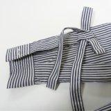 Camisas de la raya del Ls de las mujeres con el nudo de la mariposa