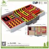 Fliping Trampoline-Arena, Sicherheits-springender Trampoline-Bodenpark