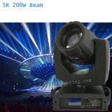 luz principal móvil de la viga 200 del zoom de 5r Sharpy