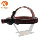 再充電可能なアルミ合金LEDの軽いヘッドライト