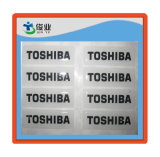 Etiquetas engomadas impresas de la resina de epoxy 3D para Keychains