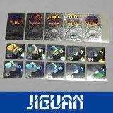 Étiquette adhésive holographique transparent laser