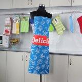 포켓을%s 가진 앞치마를 요리해 관례에 의하여 인쇄되는 디자인 화포 부엌 조정가능한 면 OEM
