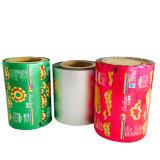 De douane Afgedrukte Verpakking van de Film van het Broodje van de Aluminiumfolie Plastic voor Koffie