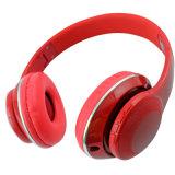 PRO superiore sopra la cuffia stereo senza fili di Bluetooth dell'orecchio con la fessura per carta di TF e di FM