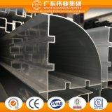 Puertas deslizantes de la aplicación de las decoraciones del grado de 6000 series y perfil del aluminio de Windows