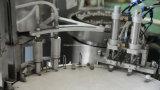 Máquina de embotellado automática de 10ml 5ml con la escritura de la etiqueta del casquillo del tapón del terraplén