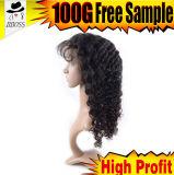 peluca brasileña del cordón del grado 10A media