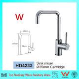 Gute Preis-heiße Verkaufs-Qualitäts-fertiger keramischer Bassin-Badezimmer-Messinghahn mit Wasserzeichen