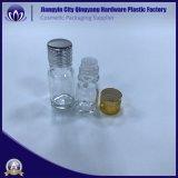 10ml frasco gotero de vidrio ámbar de aceite esencial y E-líquido con tapas de aluminio