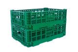 Embalaje plástico plegable de la serie 600*400 para el vehículo y la fruta