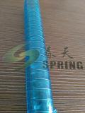 PVC transparent aucun boyau renforcé de fil d'acier d'odeur