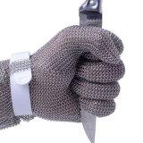 Guanti della mano di sicurezza dell'acciaio inossidabile