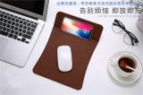 Kundenspezifische Firmenzeichen-Mausunterlage mit drahtloser aufladenfunktion für iPhone X, für Radioapparat-Aufladeeinheit Samsung-S9
