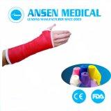 FDA van Ce Gietende Band van de Glasvezel van het Verband van het Pleister de Medische Voor consumptie geschikte Orthopedische