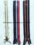 La mode en nylon à fermeture éclair Garmant Stripe pour accessoires