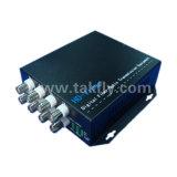1080P 8チャネルのAhd&Cvi&Tviのビデオファイバー伝達