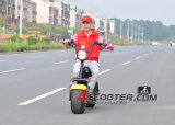 Presente de Natal potente bateria de lítio de alta velocidade Citycoco Scooter 2000W CEE