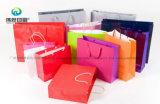 Personnaliser l'emballage d'impression Papier coloré Shopping sac &GIF