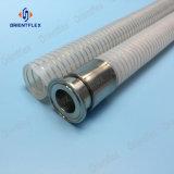 Tubi flessibili sanitari del silicone con il collegare dell'elica dell'acciaio inossidabile